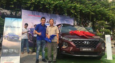 Chương trình lái thử xe Hyundai Santafe 2019 quận Ngũ Hành Sơn