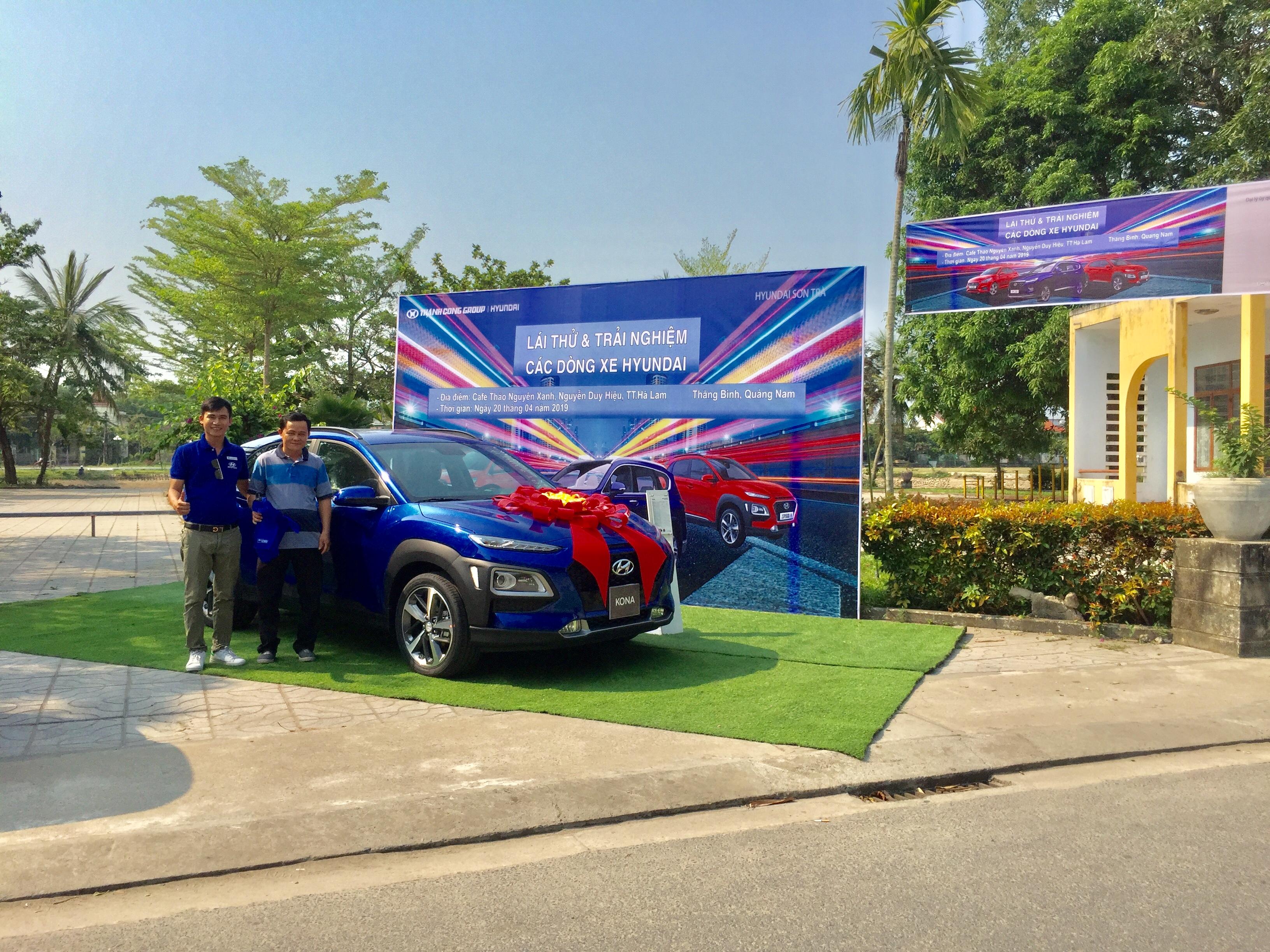 Chương Trình Lái Thử Xe Hyundai Sơn Trà tại Thăng Bình, Quảng Nam