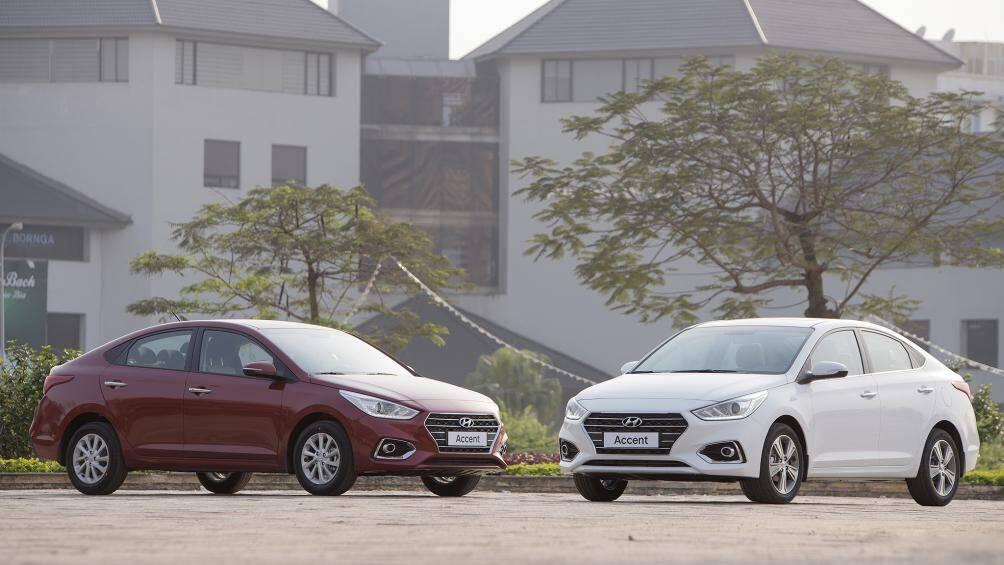 Accent vẫn là mẫu xe Hyundai bán chạy nhất Việt Nam