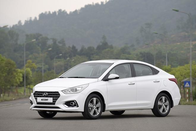 Giá lăn bánh Hyundai Accent cập nhật mới nhất tháng 6/2020